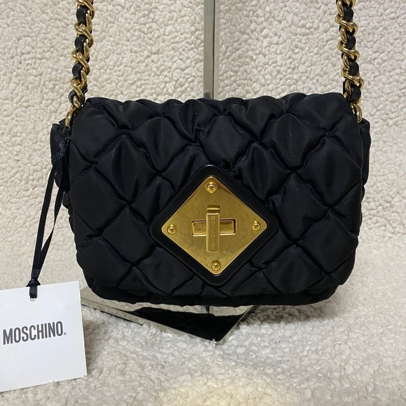Vintage Moschino quilted purse